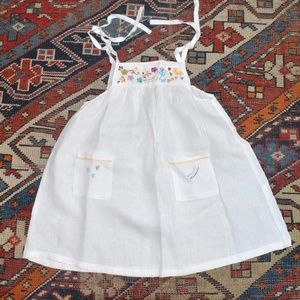 Other - Isilda Parente Gorgeous Linen Baby Dress
